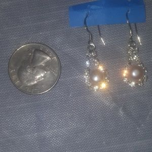 Sterling silver and real pearls